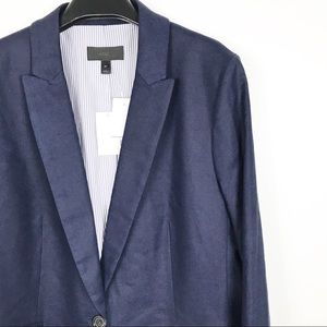 J. Crew Jackets & Coats - J. Crew Parke blazer in stretch linen Womens